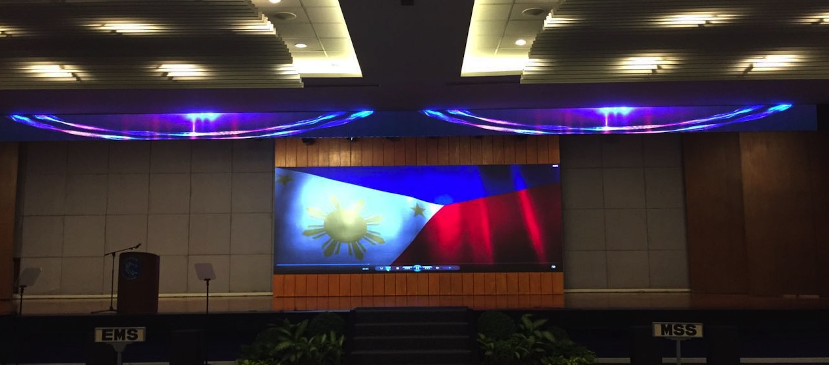P3.91 LED display