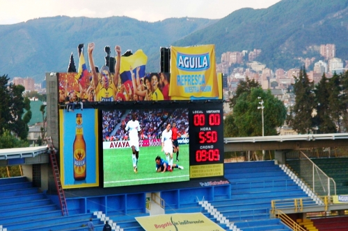 P20 LED display for football stadium