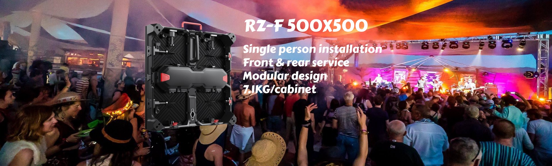 HXTECH RZ-F rental LED display